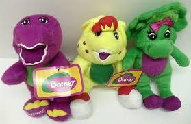 amazon singing barney friends plush doll featuring 6