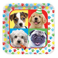 puppy party supplies paw ty time parties4less net party supplies party favors