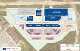 Easton Town Center Map Owings Mills Md Metro Centre At Owings Mills Retail Space For