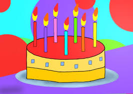 kids birthday cakes learn how to draw birthday cake for kids cakes step by step