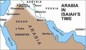 Biblical Map Of The Middle East by Maps Covering The Periods Of Isaiah U0027s Prophecies