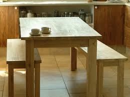 Natural Wood Dining Room Sets Kitchen Kitchen Table With Bench And 2 Kitchen Table With Bench