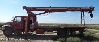 1997 international 4700 crane truck item dc3854 thursday