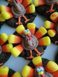 oreo thanksgiving turkeys worth pinning candy corn turkey cookies
