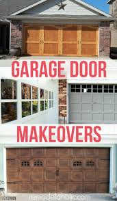 best 25 diy garage door ideas on pinterest garage door makeover 8 diy garage door updates