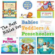 the best bibles for babies toddlers u0026 preschoolers i can teach