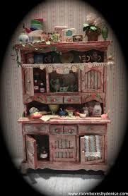 277 best hutches images on pinterest dollhouses dollhouse zinnia had a tea party miniature kitchendoll house