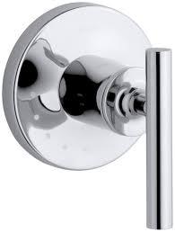 kohler k t14490 4 cp purist volume control valve trim polished