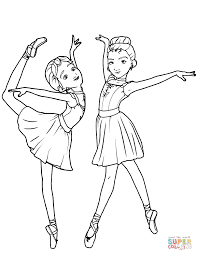 leap ballerina coloring pages free coloring pages