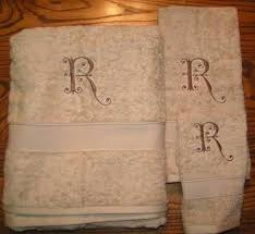 Machine Embroidery Designs For Kitchen Towels by 13 Best Monogrammed Towels Images On Pinterest Embroidery Ideas