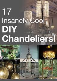Diy Light Fixtures Magnificent Lighting Diy Ideas 1000 Images About Very Cool Diy