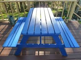 31 best painted picnic tables images on pinterest painted picnic