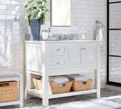 Furniture In Bathroom Bathroom Furniture Decor Pottery Barn