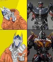Transformers Meme - transformers drake meme by xmancosplay on deviantart