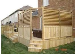 Privacy Screens For Backyards by Cedar Outdoor Privacy Screens I Like The Bottom Half Of The