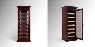 vinbro remington humidor cabinet cigar display furniture climate