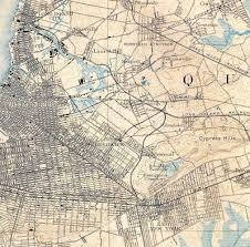 Brooklyn College Map Borderlands Traveling The Brooklyn Queens Divide Urban Omnibus