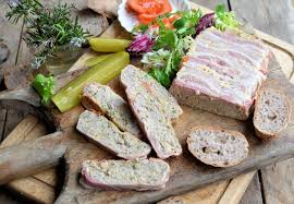 meatloaf or terrine an easy recipe for pork sausage and orange
