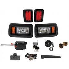 club car light kits headlight and taillight assemblies