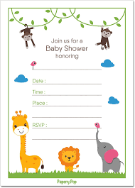 ideas for a jungle themed baby shower babyprepping com