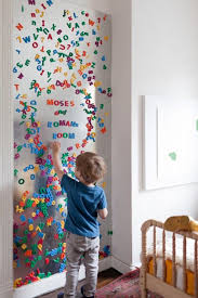 Great Idea For Kids Play Area Or Bedroom Giant Magnet Board With - Magnetic board for kids room