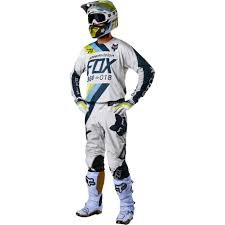 light motocross helmet 2018 fox racing 360 draftr gear kit light grey sixstar racing
