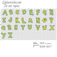 cross stitch pattern design software cross stitch alphabet pokemon font uppercase letters free cross