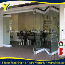 Folding Glass Patio Doors Prices by Frameless Sliding Folding Doors Frameless Bifold Glass Doors