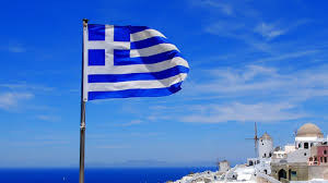 what do the colors on the greek flag mean reference com