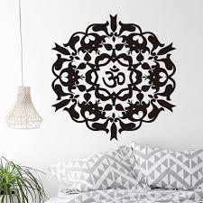 Wall Decals Mandala Ornament Indian by Online Get Cheap Vinyl Wallpaper Mandala Aliexpress Com Alibaba