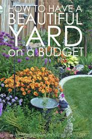 front yard backyard on a budget landscape to picture garden ideas