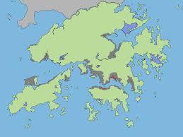 Hong Kong Flag Map Land Reclamation In Hong Kong Wikipedia