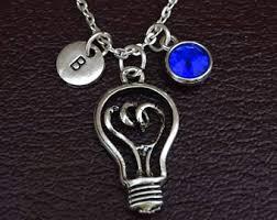 lightbulb necklace light bulb necklace light bulb pendant