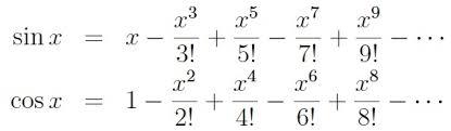 Table Of Trigonometric Values Computing Trigonometric Functions