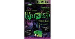 tickets on sale for first annual haunted costume ball from witches
