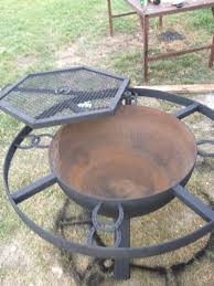 Firepit And Grill by Furniture U0026 Accessories Learning How To Modify The Fire Pit Grill