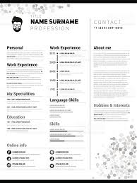 Cv Resume Example by Resume Clip Art Vector Images U0026 Illustrations Istock