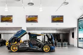 pagani engine one off pagani huayra 730 s reached the states and it shines there