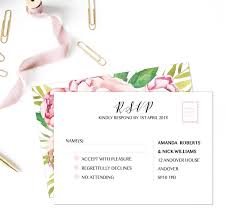 Wedding Invitation Reply Card Wedding Invitations And Response Cards Wedding Invitation