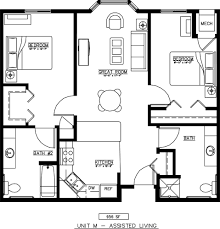 bedroom plans units plans and photos senior housing floor plans augustana