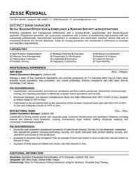 Resume Format For Banking Jobs by American Style Resume Sample Http Topresume Info American