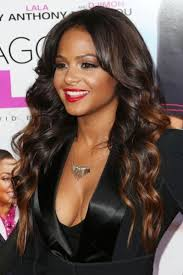 hair highlighted in front nice curly brown with golden highlight lace front wig 100 human