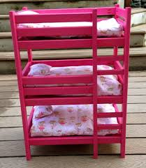 18 Inch Doll Bunk Bed Bunk Beds Doll Bunk Beds For 18 Inch Dolls Our Generation