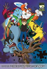 24x36 ben 10 alien force omnitrix tv poster print cartoons