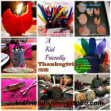 thanksgiving ideas for kid friendly things to do