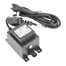20va replacement low voltage water feature garden lights transformer co uk garden outdoors