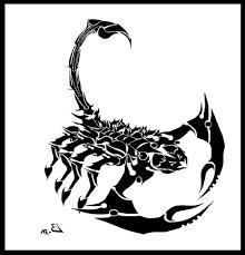 tribal scorpion tattoo designs for men cool tattoos bonbaden