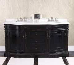 legion 68 inch double sink bathroom vanity wb2668l in dark