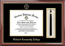 college diploma frames oakland community college diploma frames certificate framing