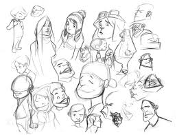 cartoon sketches by bolognafingers on deviantart